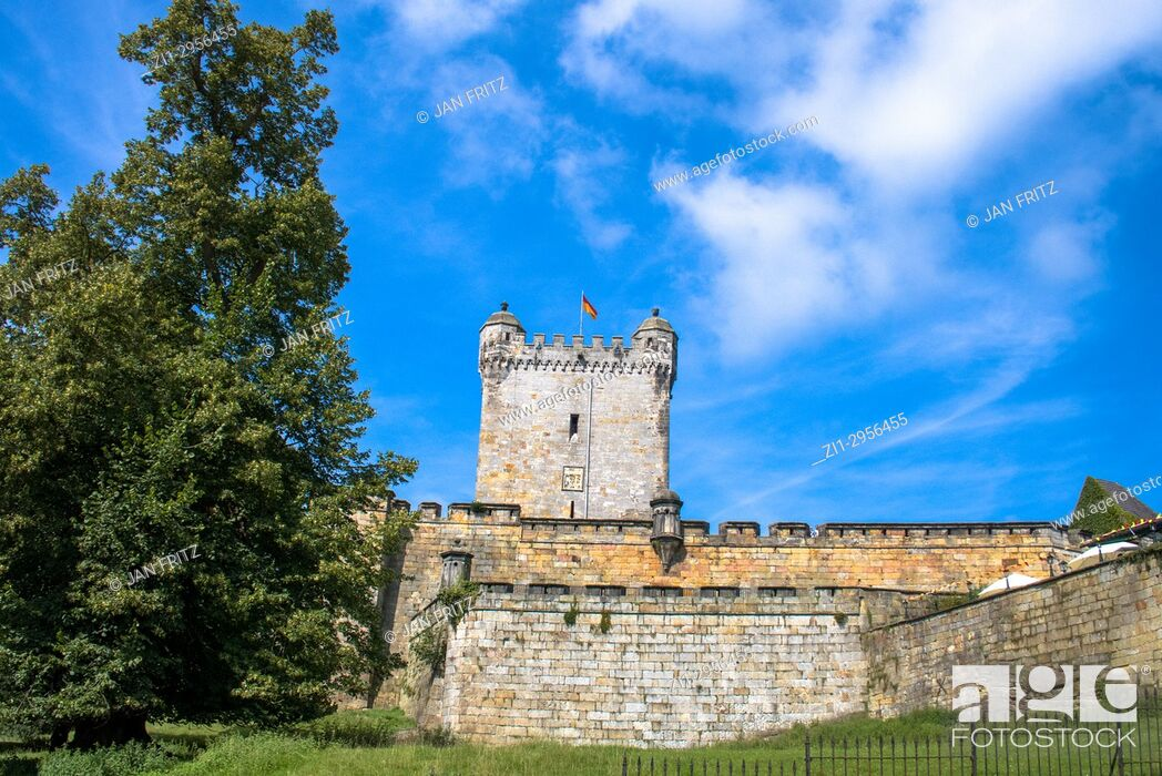Stock Photo: Medieval Bentheim castle, Germany.
