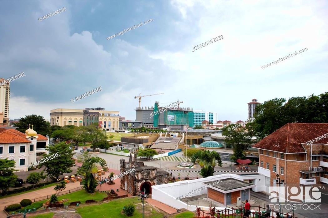 Stock Photo: Malaysia, Melaka State, Fort A Famosa.