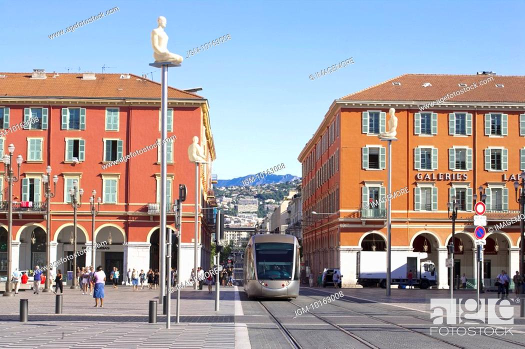 Stock Photo: Nice, Provence-Alpes-Cote d'Azur, France, Europe.