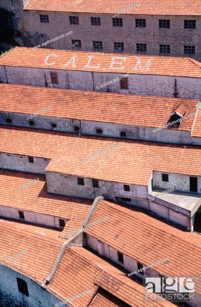 Stock Photo: Houses of Port Calem. Oporto. Portugal.