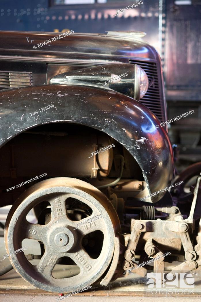 Stock Photo: B&O Railroad Museum.