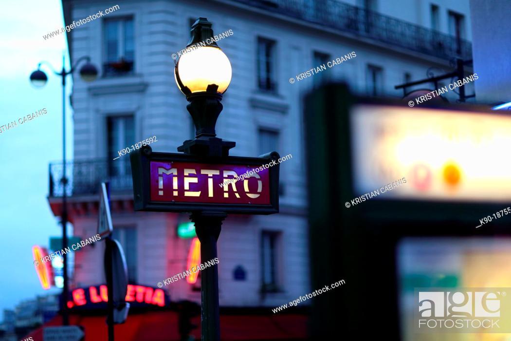 Stock Photo: Paris, Ile de France, France, Europe.