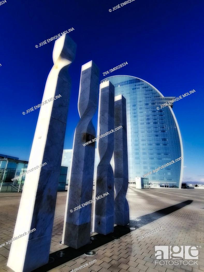 Stock Photo: Barcelona city, Catalonia, Spain, Europe.