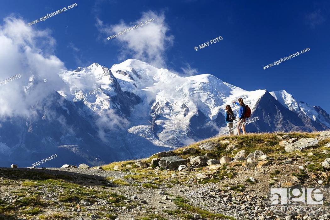 Imagen: Chamonix, Mont Blanc, Haute Savoie, France, Europe.