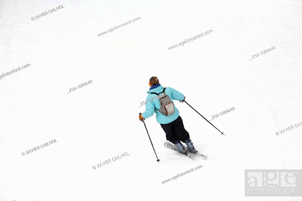 Stock Photo: Winter sports.