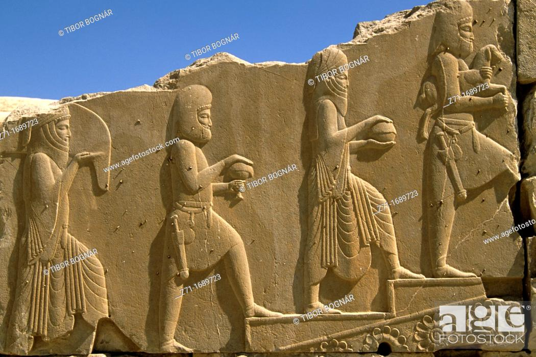 Stock Photo: Iran Persepolis.