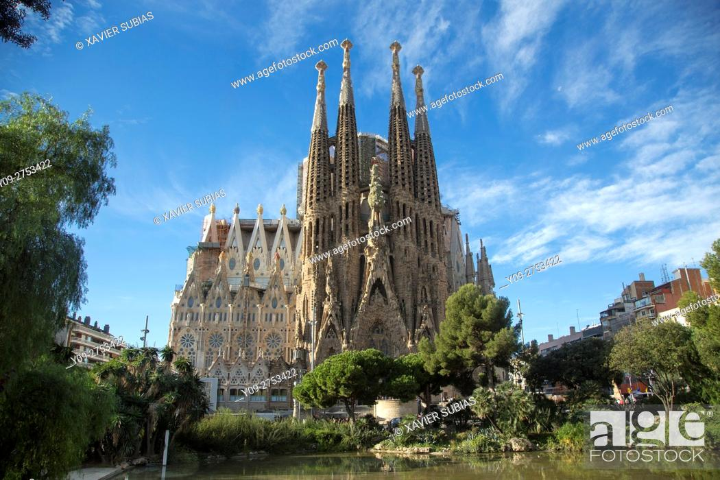 Stock Photo: Sagrada Familia, Barcelona.