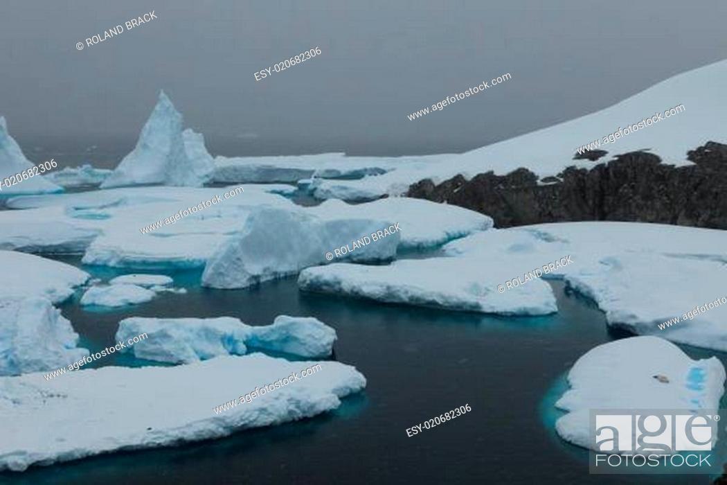 Imagen: Die Antarktis Paradies Bay.