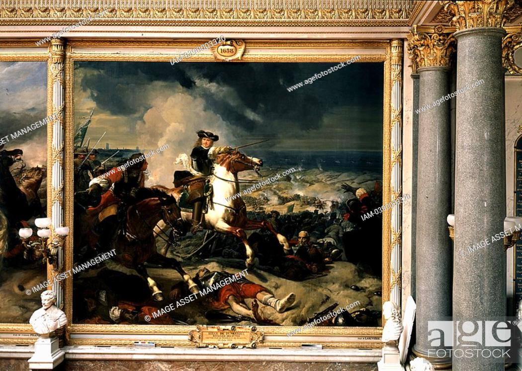 seige of dunkirk dunkerque battle of the dunes won by marshal