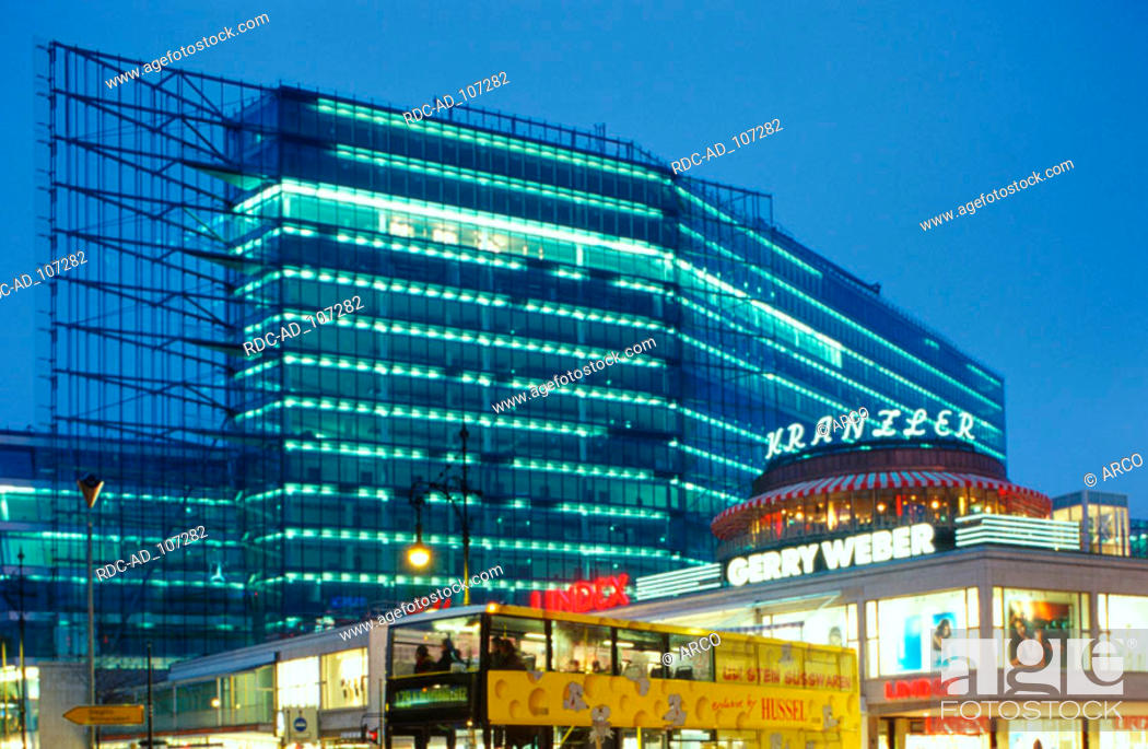 Office Building Neues Kranzler Eck Berlin Germany Architect Helmut