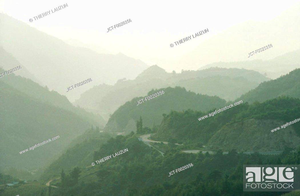 Stock Photo: South Korea, near Tanyang.