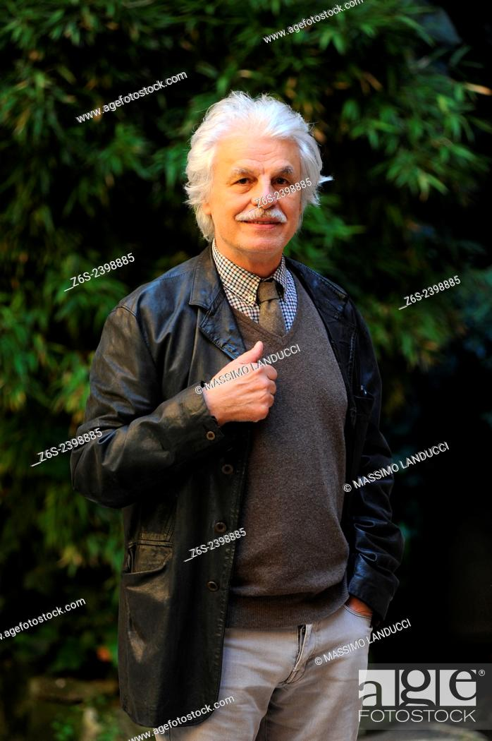 Imagen: Michele Placido; Placido; actor and director; celebrities; 2015;rome; italy;event; photocall; la scelta.