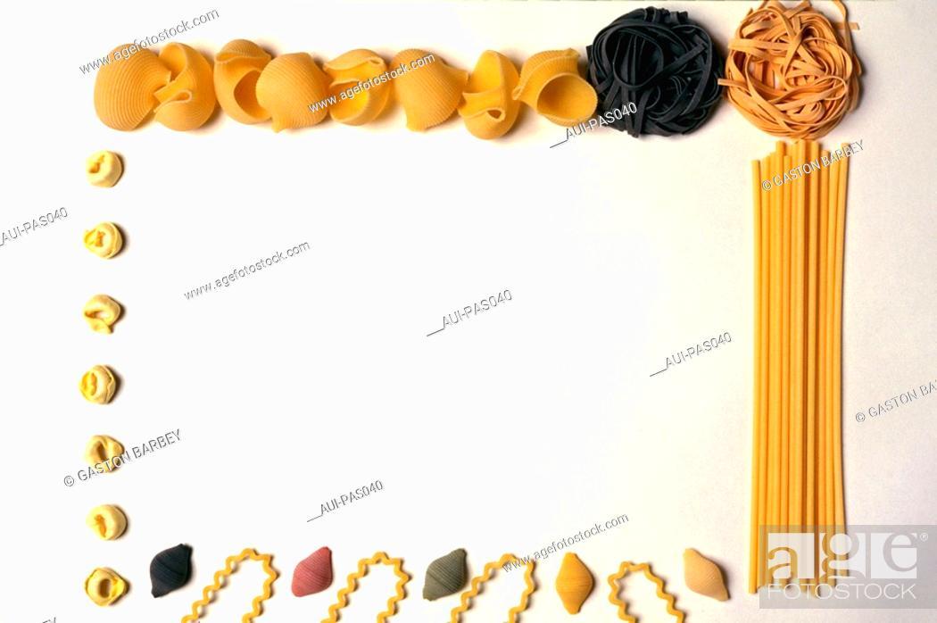 Stock Photo: Pasta - Assorted Pasta.