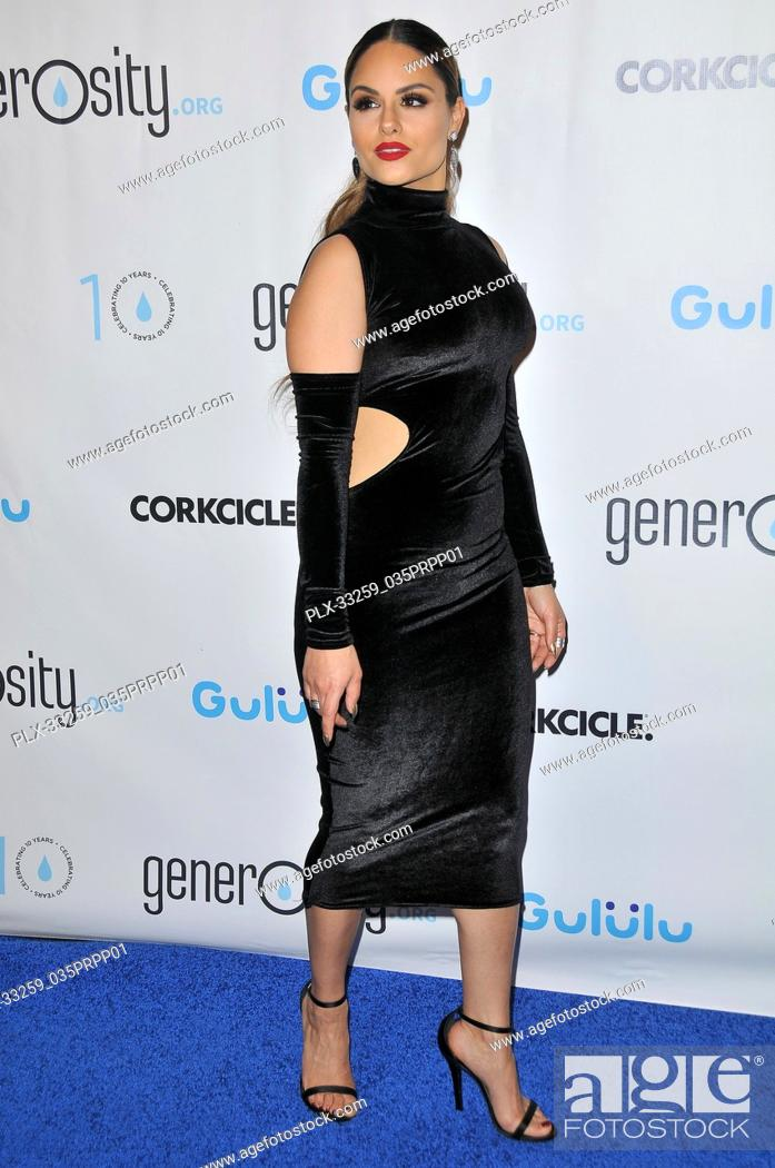 Stock Photo: Pia Toscano at the Generosity.org Fundraiser For World Water Day held at the Montage Hotel in Beverly Hills, CA on Tuesday, March 21, 2017.