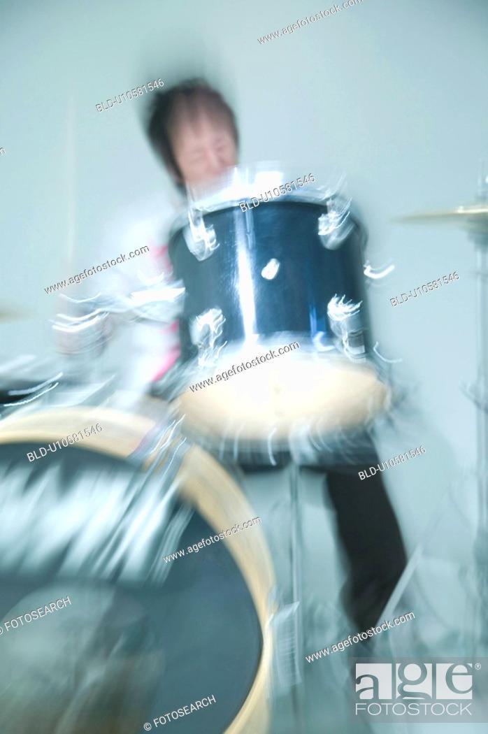 Stock Photo: Drum.