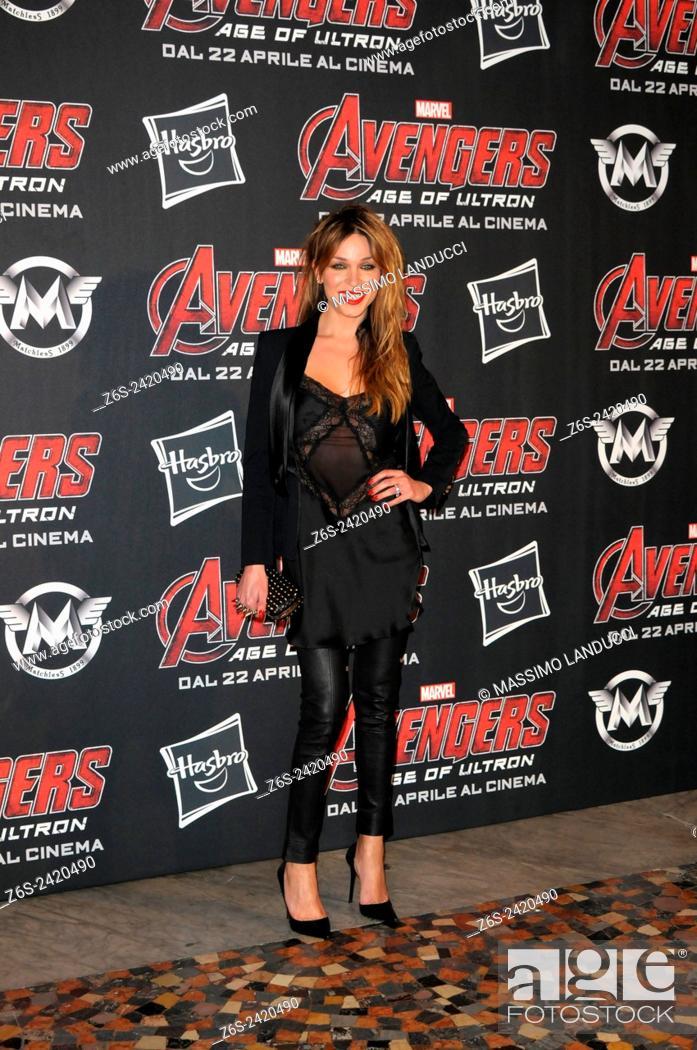 Imagen: vittoria schisano ; schisano; actress ; celebrities; 2015;rome; italy;event; red carpet ; avengers, age of ultron.