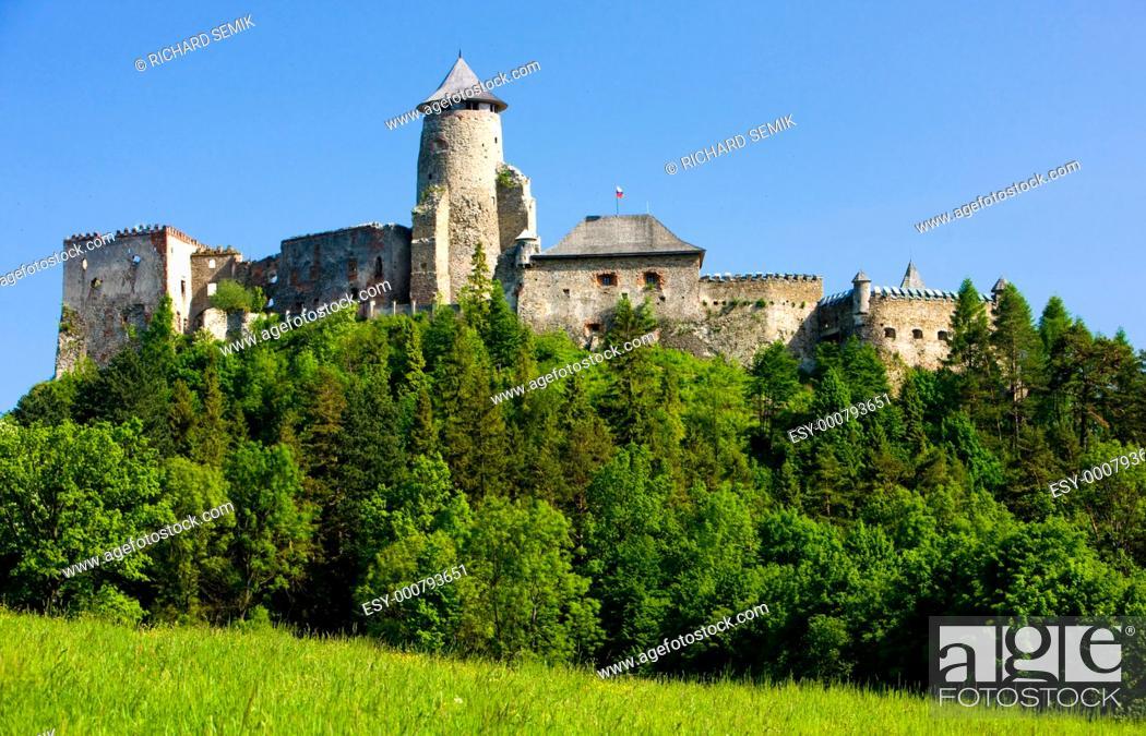 Stock Photo: Stara Lubovna Castle, Slovakia.