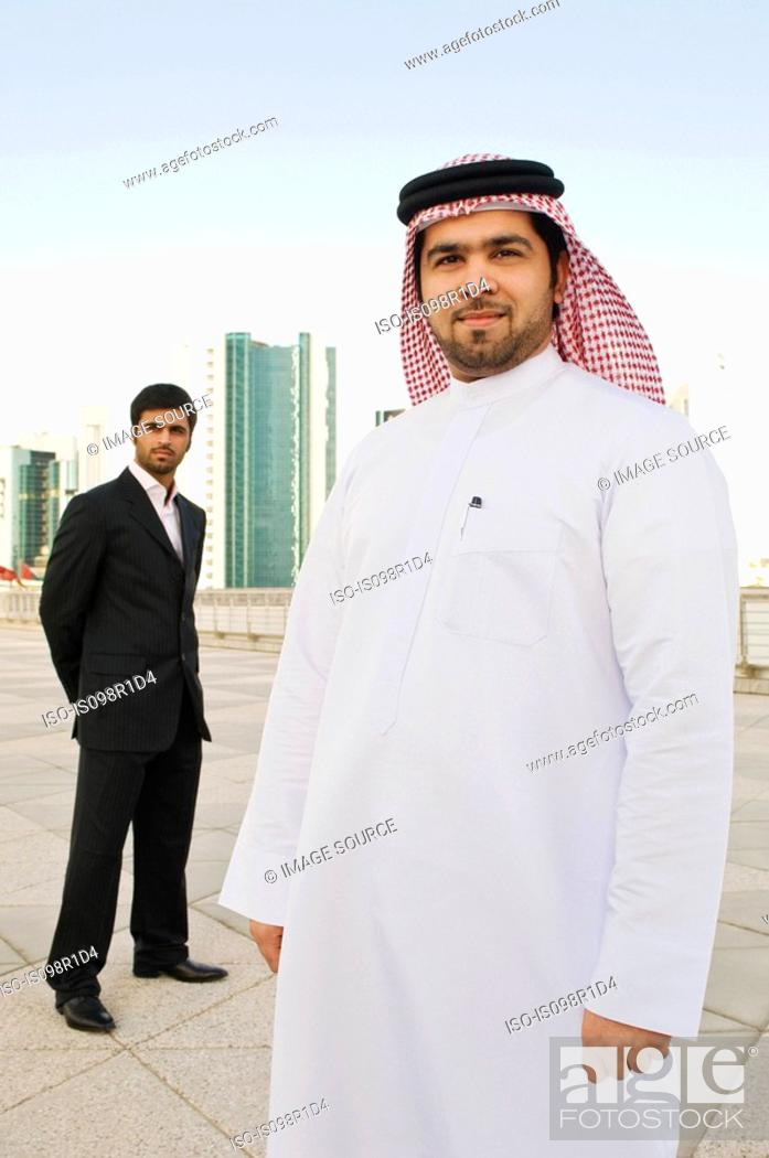 Stock Photo: Portrait of middle eastern businessmen.
