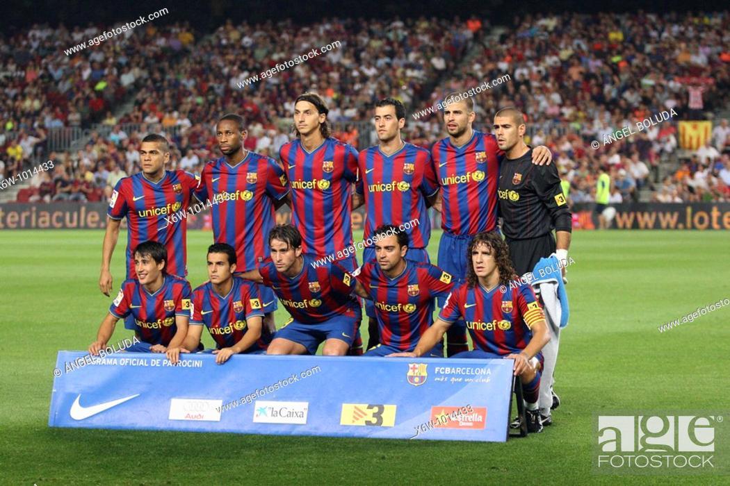 Stock Photo: Camp Nou Stadium, FC Barcelona, 2009.