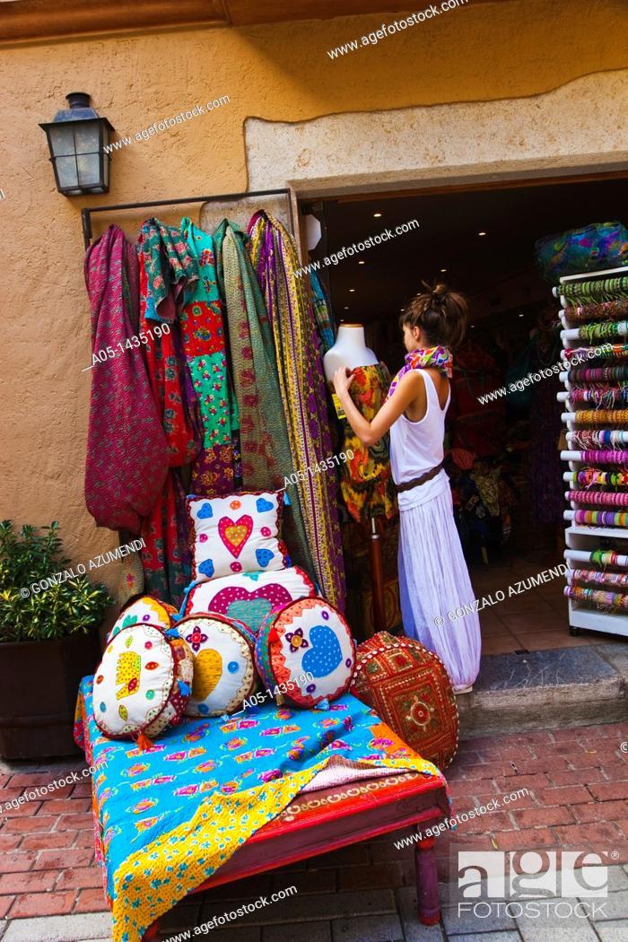 Stock Photo: Market, Begur, Baix Empordá, Costa Brava, Girona Province, Catalonia, Spain.