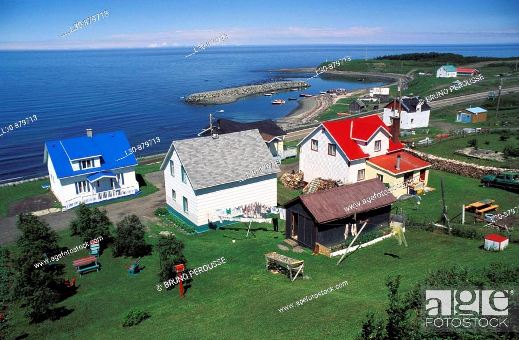 Stock Photo: Gaspesie, Quebec, Canada.