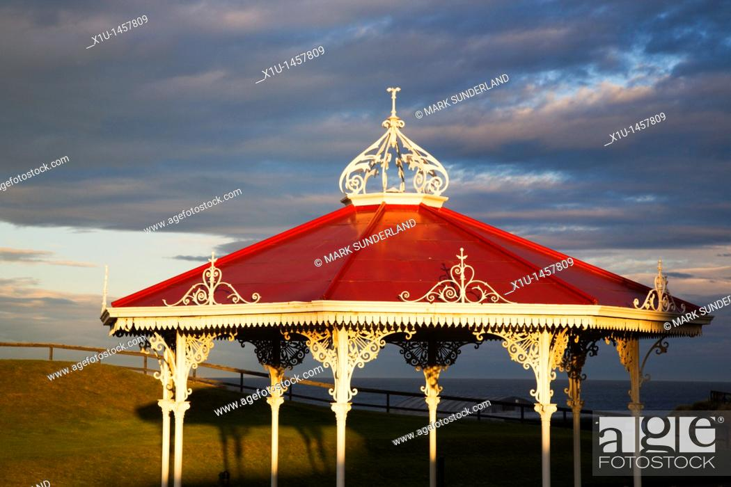 Stock Photo: Bandstand on The Butts St Andrews Fife Scotland.