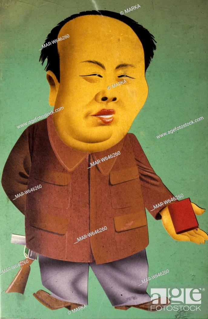 Stock Photo: mao tse-tung by paolo garretto.