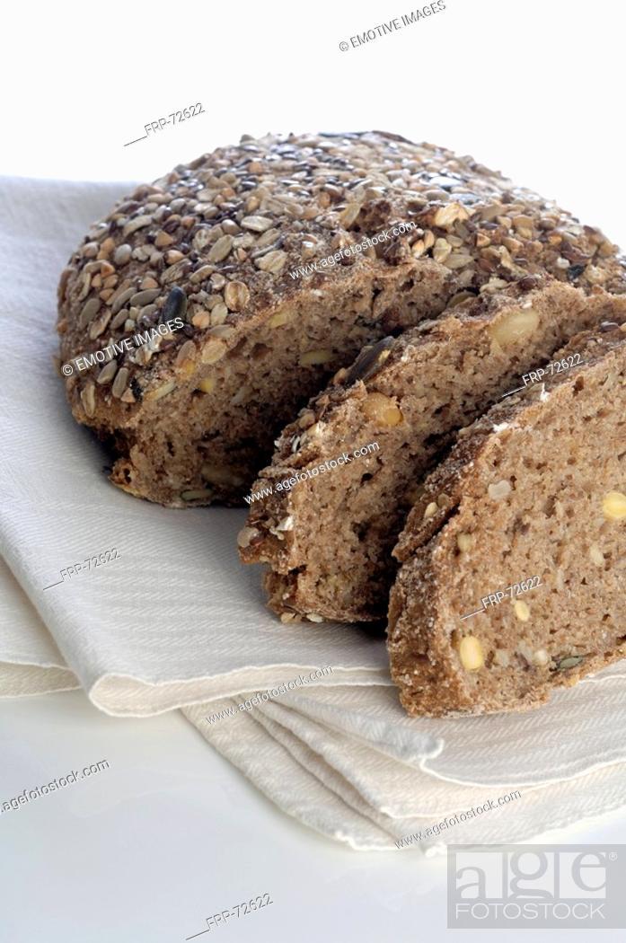 Stock Photo: Organic bread.