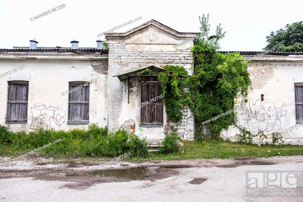 Imagen: Traditional houses in Tallinn, Estonia, Europe.