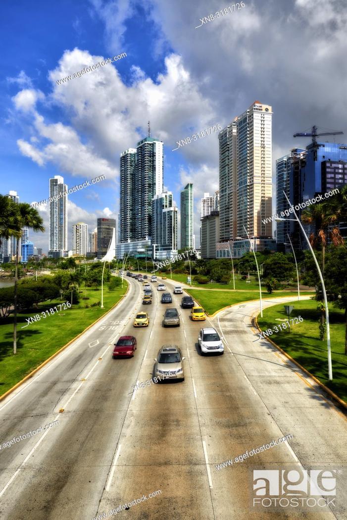 Imagen: Cinta Costera, Panama City, Republic of Panama, Central America, America.