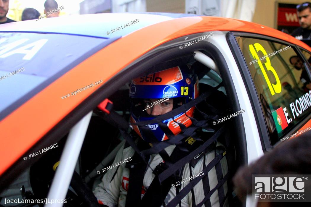 Stock Photo: E. Florindo, Cupra TCR #13, WTCR Race of Portugal 2018, Vila Real.