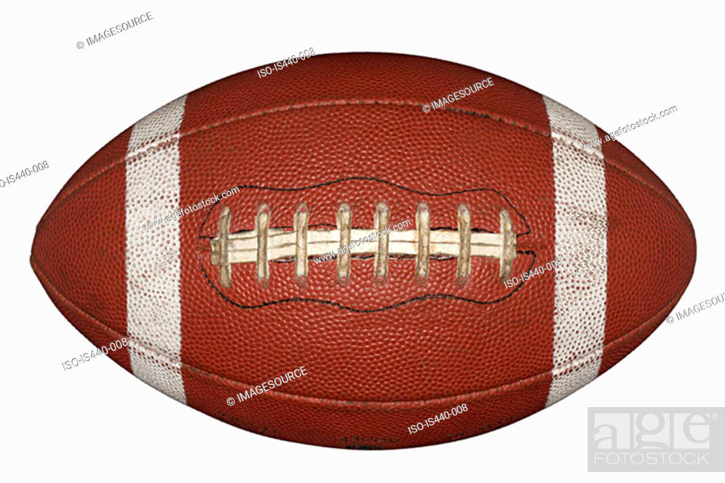 Stock Photo: American football.
