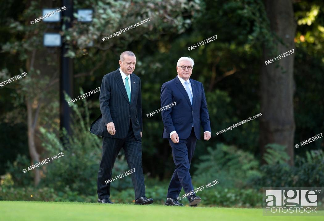 turkish president arrival