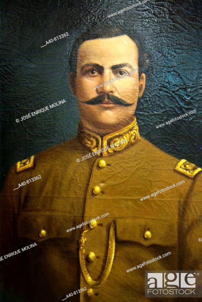 Stock Photo: Francisco Coss (1880/1961) general constitutionalist revolutionary Mexican army.
