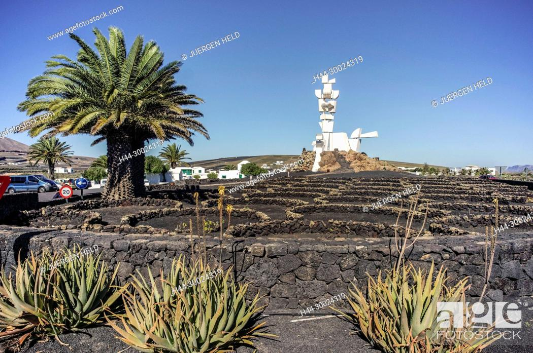 Stock Photo: Monumento Al Campesino, La Casa Museo del Campesino, Mozaga, Lanzarote, Canary Islands, Spain.
