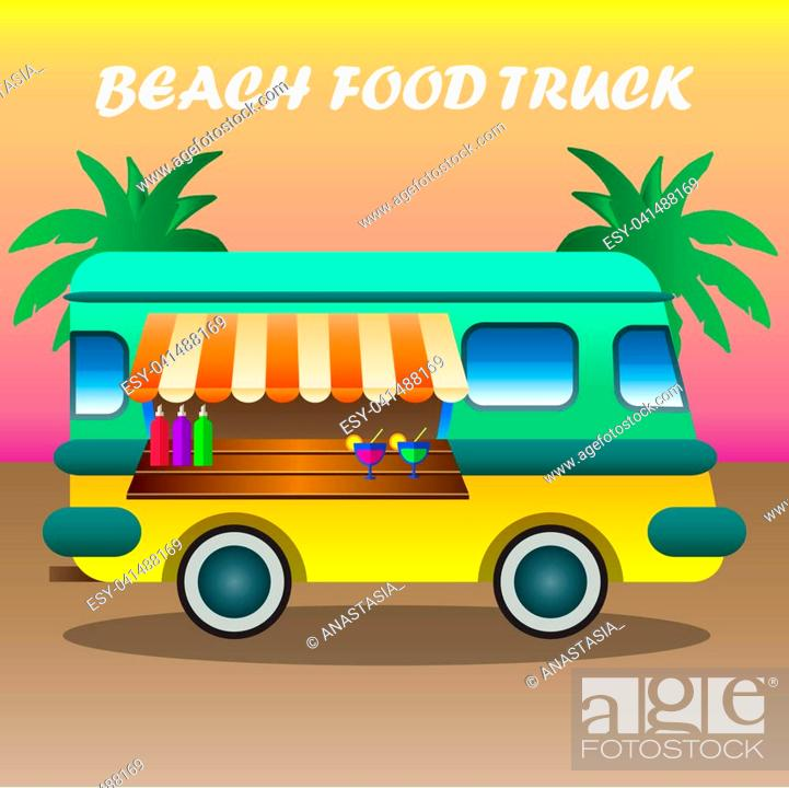Food Truck Among Palm Trees On Tropical Beach Vector Cartoon Illustration Stock Photo Picture And Low Budget Royalty Free Image Pic Esy 041488169 Agefotostock 40,224 tree trunk cartoons on gograph. https www agefotostock com age en stock images low budget royalty free esy 041488169