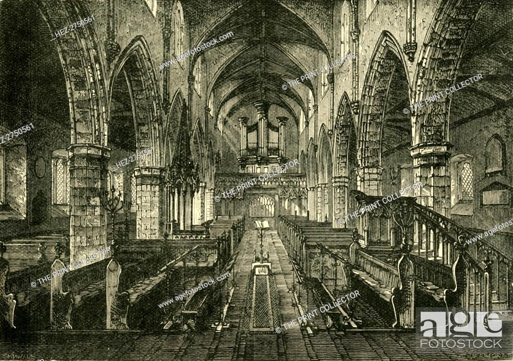 Imagen: 'Interior of Londonderry Cathedral', 1898. Creator: Unknown.