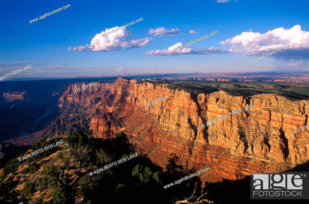Stock Photo: Grand Canyon National Park. Arizona. USA.