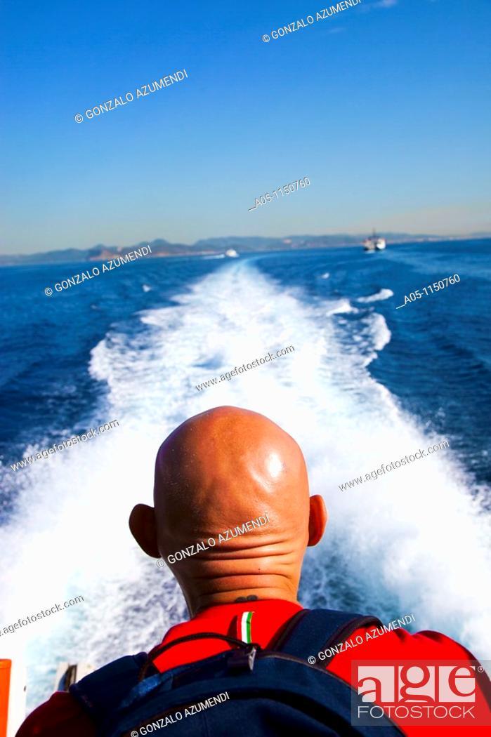 Stock Photo: Departure of Eivissa. Ibiza city. Ibiza. Balearic Islands. Spain.