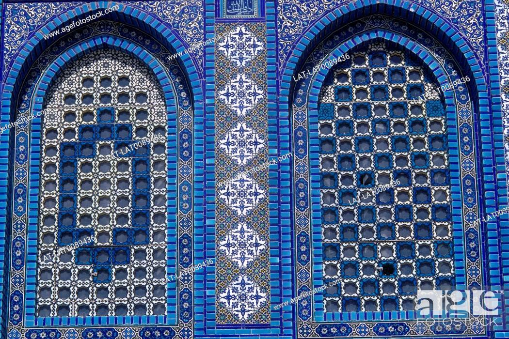 Temple Mount Dome Of The Rock Windows Screens Decorative