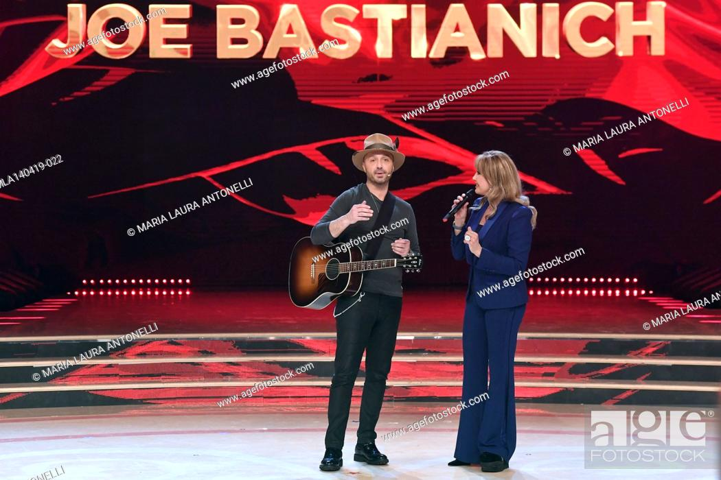 Imagen: Joe Bastianich, Milly Carlucci at the talent show ' Ballando con le stelle ' (Dancing with the stars) Rome, ITALY-14-04-2019.