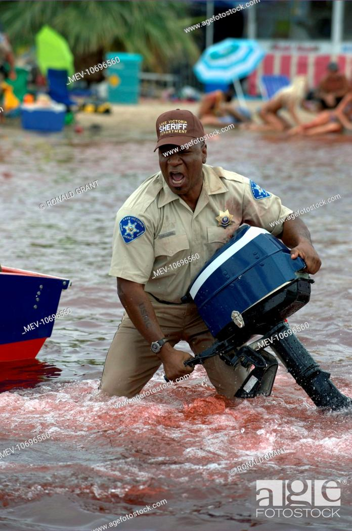 PIRANHA VING RHAMES, Stock Photo, Picture And Rights Managed Image