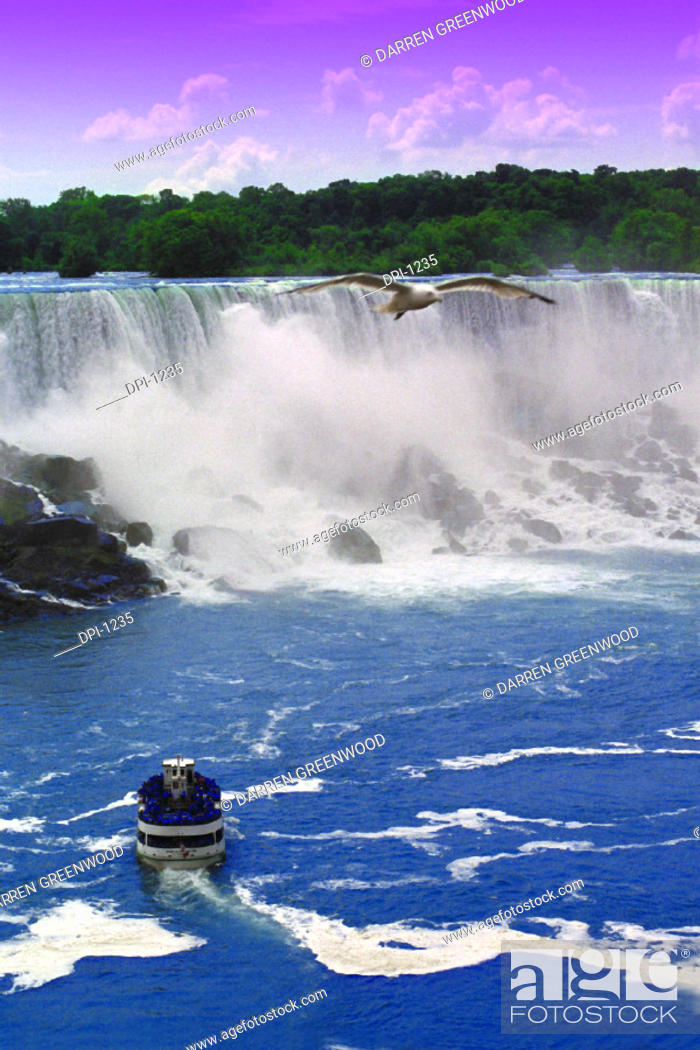 Stock Photo: Niagara Falls.