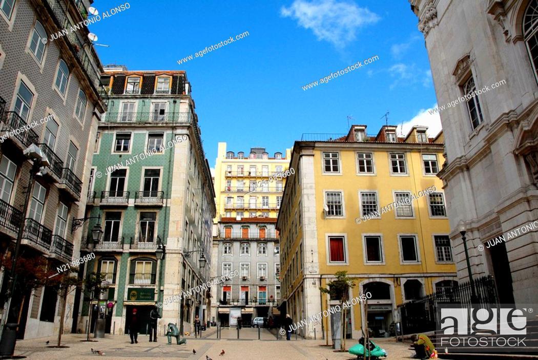 Imagen: Baixa, Lisbon, Portugal.