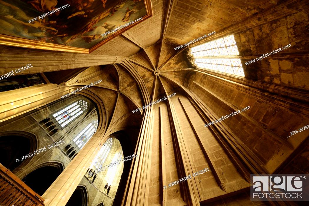 Imagen: St. Just and St. Pasteur cathedral, Narbonne. Aude, Languedoc-Roussillon, France, Europe.
