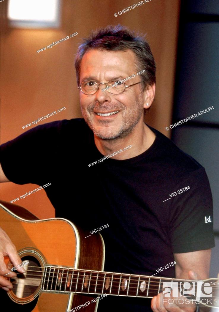 Stock Photo: Reinhard MEY, singer, during the television programme B.trifft  in