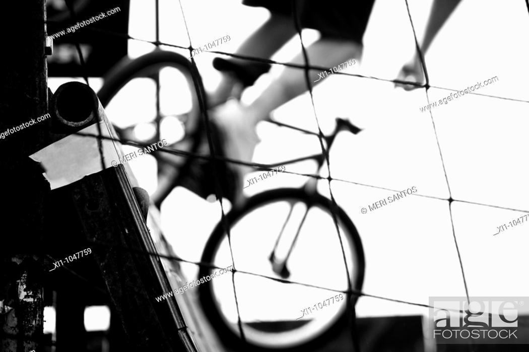 Stock Photo: Biker.