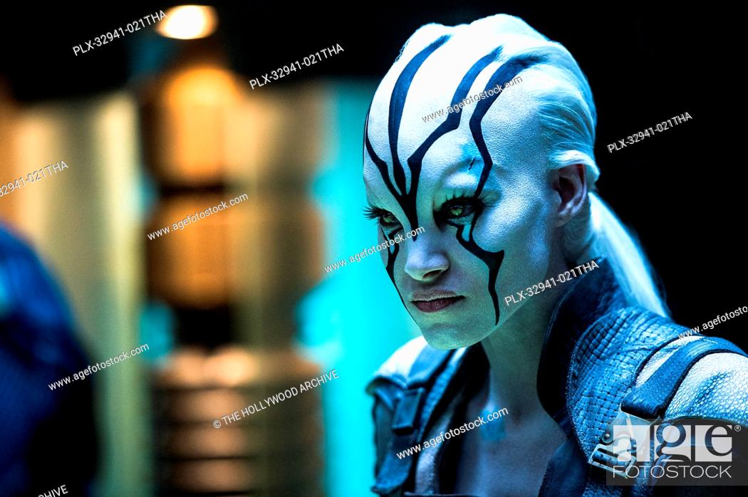 Sofia Boutella plays Jaylah in Star Trek Beyond from