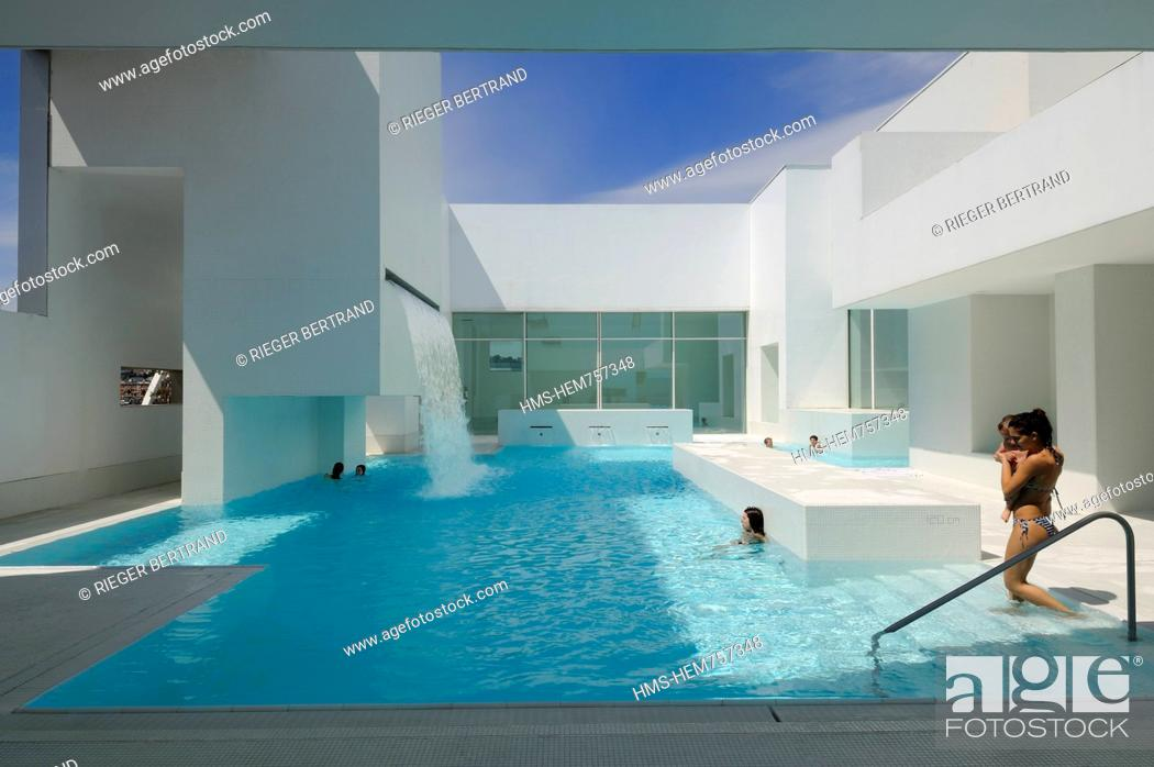 France, Seine Maritime, Le Havre, the swimming pool les