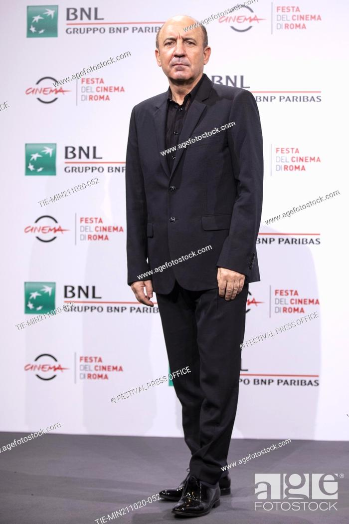 Stock Photo: Bohdan Batruch during the photocall of movie' Francesco' at the 15th Rome Film Festival, Rome, ITALY-21-10.-2020.